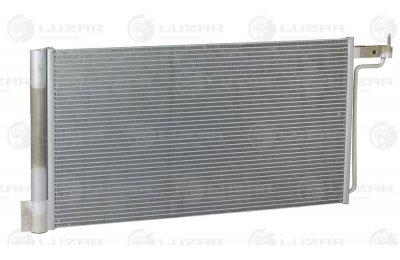 Радиатор кондиц. с ресивером для а/м Ford Focus III (11-) (LRAC 1013 )