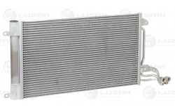 Радиатор кондиц. с ресивером для а/м VW Polo Sedan (10-)/Skoda Rapid (12-) (LRAC 1853)