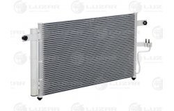Радиатор кондиц. с ресивером для а/м Hyundai Accent AT (LRAC HUAc99250)