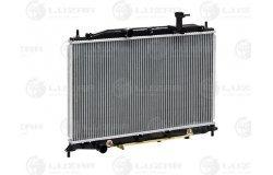 Радиатор охл. для а/м Kia Rio (05-) 1.4/1.6 АТ (LRc KIRi05210)