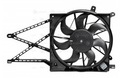 Э/вентилятор охл. с кожухом с резист. для а/м Opel Astra H (04-) (LFK 2166)
