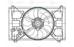 Э/вентилятор охл. с кожухом для а/м KIA Rio II (05-) (LFK 0810)