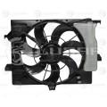 Э/вентилятор охл. с кожухом (б/резист.) для а/м Hyundai Solaris/Kia Rio (10-) A/C- (LFK 08L0)