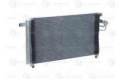 Радиатор кондиц. с ресивером для а/м Kia Rio (05-) (LRAC 08G1)