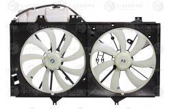 Э/вентиляторы охл. с кожухом (2 вент.) для а/м Toyota Camry (XV50) (11-) 2.0i/2.5i (LFK 1919)