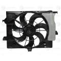 Э/вентилятор охл. с кожухом для а/м Hyundai Solaris/Kia Rio (10-) A/C+ (LFK 08L4)