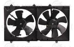 Э/вентиляторы охл. с кожухом (2 вент.) для а/м Mitsubishi Lancer IX (03-) (LFK 1100)