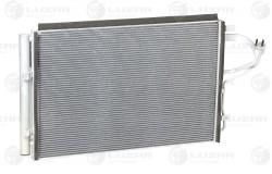 Радиатор кондиц. с ресивером для а/м Kia CEED/Hyundai Elantra (MD)/i30 (11-) (LRAC 08X0)