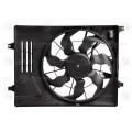 Э/вентилятор охл. с кожухом для а/м Hyundai Tuscon II (15-)/Kia Sportage (16-) 2.0i (LFK 0876)
