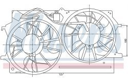 Вентилятор радиатора FORD FOCUS 1.8TD M/T -04