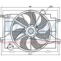 Вентилятор радиатора HYUNDAI TUCSON/KIA SPORTAGE 04-