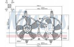Вентилятор радиатора NISSAN MAXIMA 00-