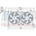 Вентилятор радиатора PEUGEOT 406 -04