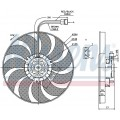 Вентилятор радиатора VW T4 1.9TD-2.5TD 94-