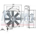 Вентилятор радиатора MB W202/W210 RIGHT 93-