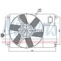 Вентилятор радиатора PEUGEOT BOXER/FIAT DUCATO/CITROEN JUMPER 02-