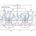 Вентилятор радиатора MAZDA 6 -07 МКПП