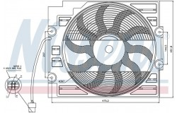 Вентилятор кондиционера BMW E39 2.0-2.8 95-04