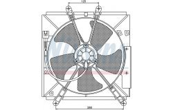 Вентилятор радиатора TOYOTA CARINA 1.6-2.0 93-97