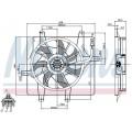 Вентилятор радиатора CHRYSLER CRUISER -10
