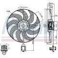 Мотор вентилятора с крыльчаткой OPEL ASTRA J/CHEVROLET CRUZE 1.4-1.8 M/T 09-