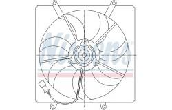 Вентилятор радиатора AVENSIS/CARINA E