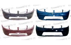 Бампер передний RENAULT Sandero без ПТФ в цвет