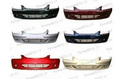 Бампер передний Hyundai Accent в цвет