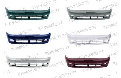 Бампер передний Chevrolet Lanos / Zaz Chance в цвет производства ТехноПласт г. Н.Новгород