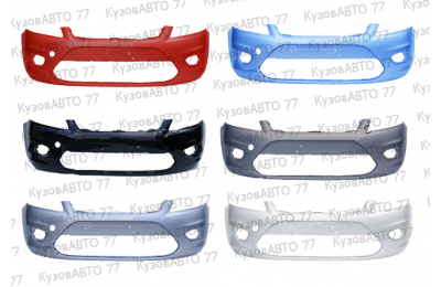 Бампер передний FORD Focus 2 (08-) в цвет производства ТехноПласт г. Н.Новгород