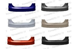 Бампер задний FORD Focus 3 (11-) седан в цвет