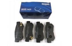 Колодки тормозные передние Solaris (10-) / Rio (11-) MANDO