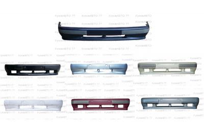 Бампер передний ВАЗ 2113-15 окрашенный в цвет с ПТФ производства Кампласт-Т