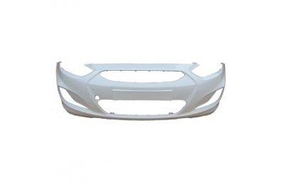 Бампер передний HYUNDAI Solaris (11-14) Белый PGU