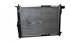 Радиатор охлаждения (механика без кондиционера) Chevrolet Lanos (98-)