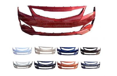 Бампер передний HYUNDAI Solaris (14-17) в цвет производства Спец-Автопласт г. Тольятти