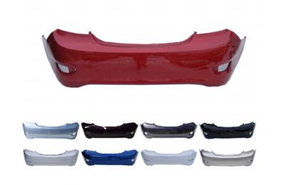 Бампер задний HYUNDAI SOLARIS седан (11-14) в цвет производства Спец-Автопласт г. Тольятти