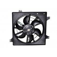 Вентилятор радиатора кондиционера (в сборе) Kia Spectra