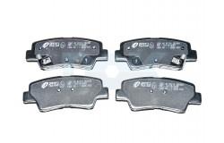 Колодки тормозные задние дисковые Solaris (10-) / Rio (11-) Remsa