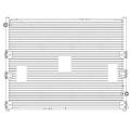 Радиатор охл. для а/м Audi A4 (07-)/A6 (11-)/Q3 (11-)/Q5 (08-) (LRc 1880)